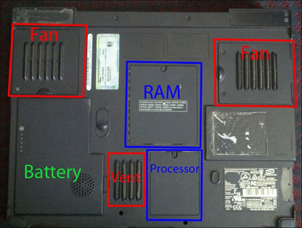 fix Laptop keeps heating up