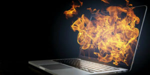 Why laptop overheats