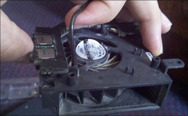 buy laptop fan to fix laptop overheating