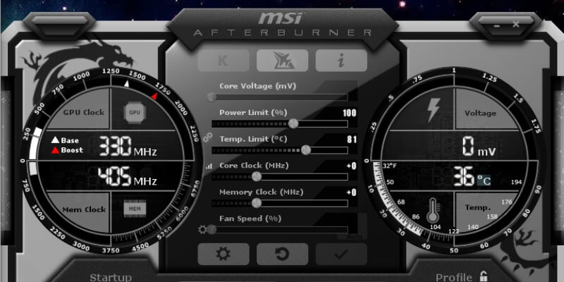 best MSI fan Control software to change PC fan speed