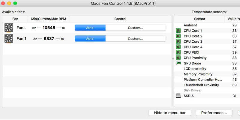 best PC fan control software for mac and Windows