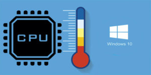 Check CPU temperature on Windows 10