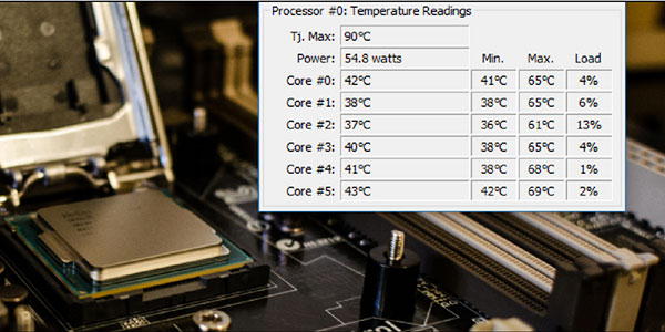 How to Check CPU temperature on Windows