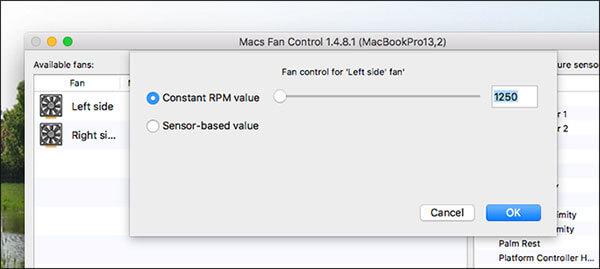 monitor macs fan speed macs fan control fan speed