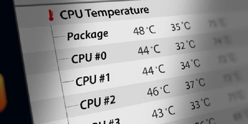 Normal CPU Temperature range