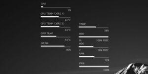 Download Rainmeter CPU Temp Monitor