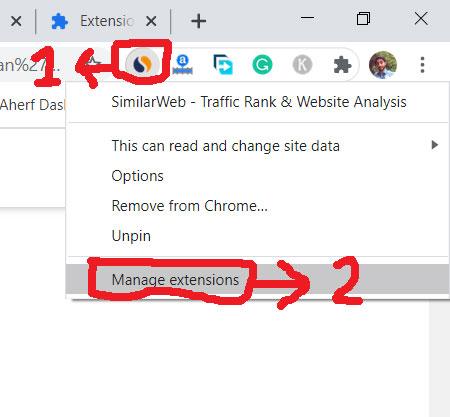 How do i open chrome plugins