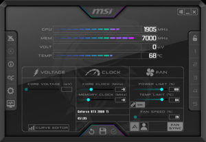 MSI Afterburner Download Latest version for PC